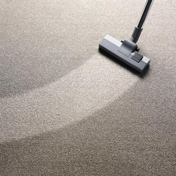 Vacuuming Carpet